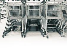 Shopping-carts Stock Photo