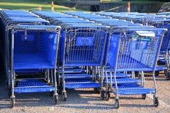 Shopping carts Stock Photo