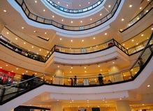 Shopping center 2. A modern shopping center of Chongqing stock photos
