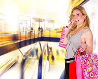 In shopping center Royalty Free Stock Photography