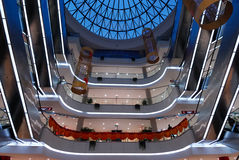 Shopping center 3. A modern shopping center of Chongqing royalty free stock images