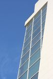 Shopping center. Building of the shopping center, window, sky Royalty Free Stock Image