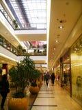 Shopping center. Mall in cracow poland stock photos