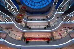 Shopping center 7. A modern shopping center of Chongqing stock photo