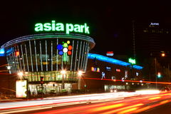 Shopping center ASIA PARK in Astana / Kazakhstan Royalty Free Stock Images