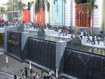 Shopping center, Bangkok, Thailand. BANGKOK, THAILAND - JANUARY 8: Exterior of the Siam Paragon shopping center at the grand opening. January 8 2005, Siam Stock Photo