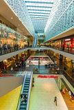 Shopping center Centrum Galerie in the old town. Stock Image