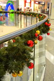 Shopping center Christmas decoration Stock Image