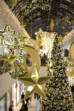 Shopping center at christmas time Stock Photography
