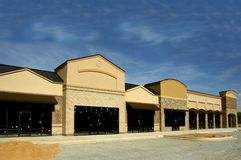 Shopping Center Construction Royalty Free Stock Photography