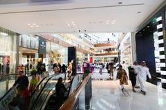 Shopping center Dubai Mall Royalty Free Stock Image