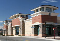 Shopping Center Exterior stock photography