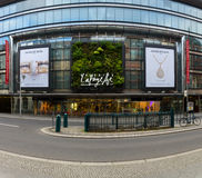 Shopping center Galeries Lafayette on Friedrichstrasse Stock Image