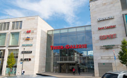 Shopping center in germany Stock Photography