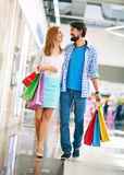 In shopping center Royalty Free Stock Image
