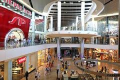 Shopping center. Interior of the Fashion Show Mall shopping center in Las Vegas stock photos