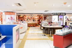 Shopping center interior Stock Photography