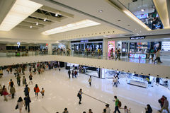 Shopping center interior Stock Photo
