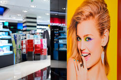 Shopping center interior Stock Photos