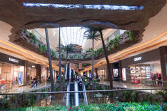 Shopping center internal in Macao Royalty Free Stock Photography