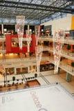 Shopping Center Lights Stock Image