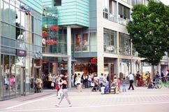 Shopping Center Mainz Royalty Free Stock Photos