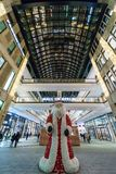 The shopping center `Mall of Berlin` at Leipziger Platz. BERLIN - DECEMBER 18, 2017: The shopping center `Mall of Berlin` at Leipziger Platz in the Christmas Stock Photography