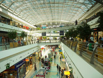 Shopping Center, Mall,  Lisbon, Portugal Royalty Free Stock Images