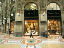 Shopping Center,  Milano. Prada in Shopping Center,  Milano Stock Photography