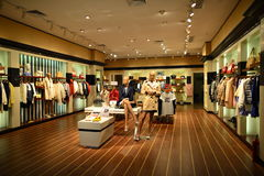 Shopping center in ShenZhen Royalty Free Stock Photo