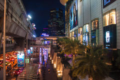 Shopping center on Siam square Stock Image