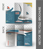 Shopping Center Store Tri-Fold Brochure Stock Photography
