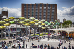 Shopping center Stratford , suburb of London near  Royalty Free Stock Images