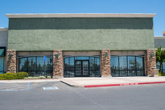 Shopping Center Strip Mall Royalty Free Stock Photography