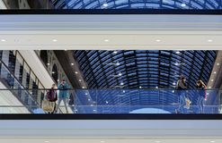 Shopping center Royalty Free Stock Photo