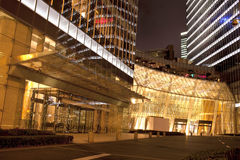 Shopping Centergate  in night,shanghai,China Royalty Free Stock Photos