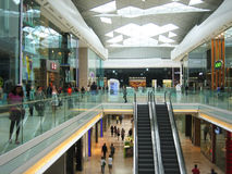 Shopping centre Royalty Free Stock Photos