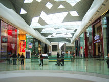 Shopping centre Stock Image