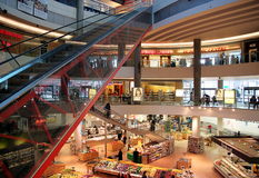 Shopping Centre Royalty Free Stock Images