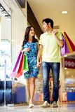 In shopping centre Stock Images