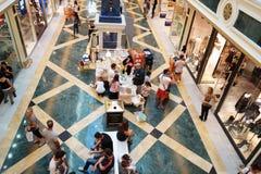 Shopping centre interior Stock Photos