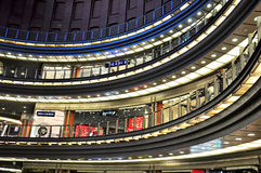Shopping centre interior, Poland Stock Images