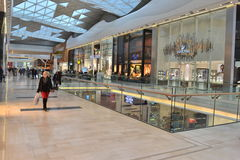 Shopping centre London. Westfield shopping centre in London White City Stock Images