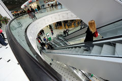 Shopping centre (mall) Royalty Free Stock Photos