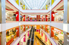 In the shopping centre Royalty Free Stock Images