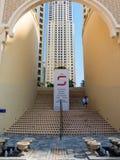 Shopping Centre The Walk in Dubai Marina Stock Image