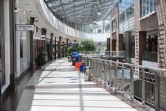 Shopping centre Westend interior Stock Images