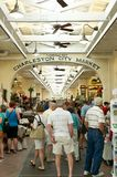 Shopping in Charleston City Market Royalty Free Stock Image