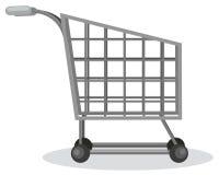 Shopping chart. Illustration of isolated shopping chart on white background Stock Images