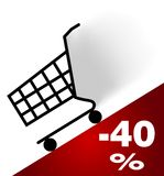 Shopping chart Stock Photography